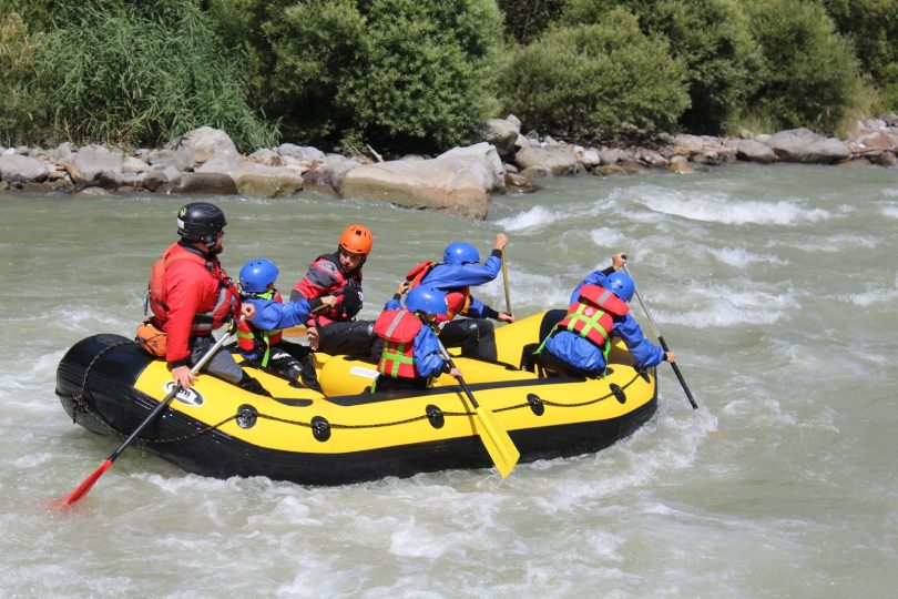 rafting al Trentino wild