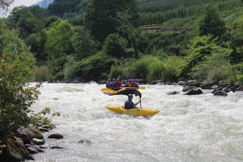 rafting-Noce
