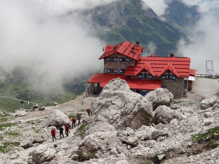 rifugio Agostini in val d'Ambiez