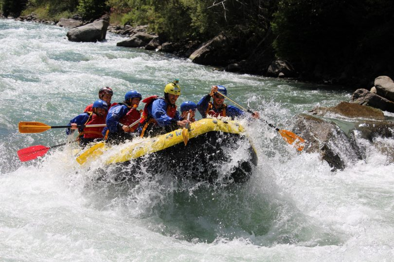 rafting adrenalina nel canyon