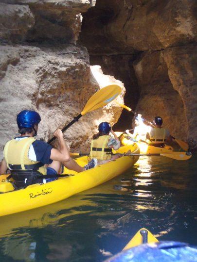 Canoa al Rio Novella