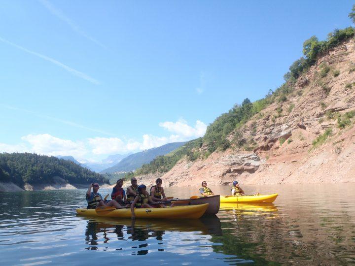 Canoa al Lago di Santa Giustina