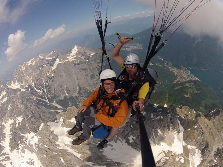 #Paragliding Molveno