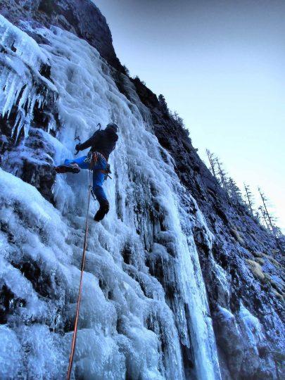 arrampicata su ghiaccio dolomiti