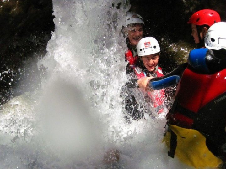 family canyoning 1