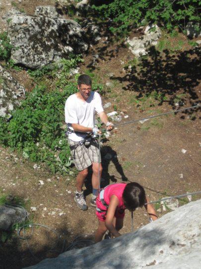 family climb 2