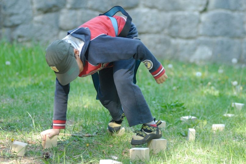 kids fun climb