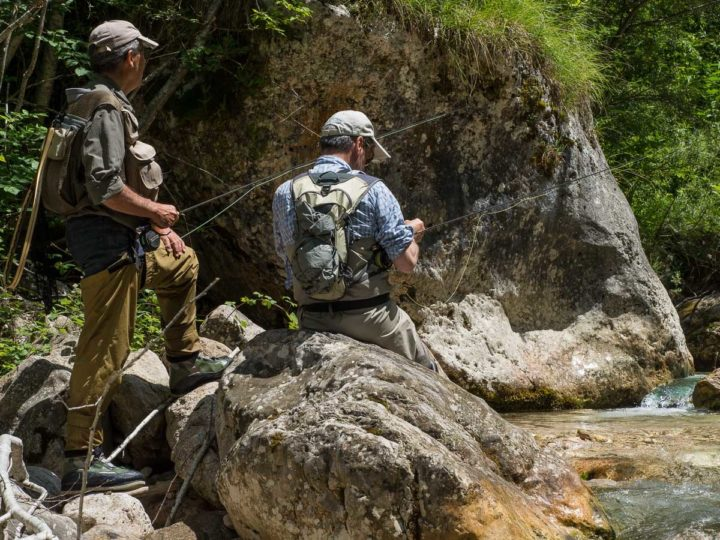pesca a mosca sul rio Ala,Vallagarina, Trentino