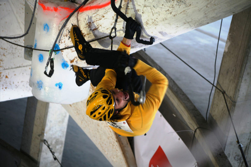 mauro-dorigatti-Ice-Climbing-World-Cup-2013-Saas-Fee
