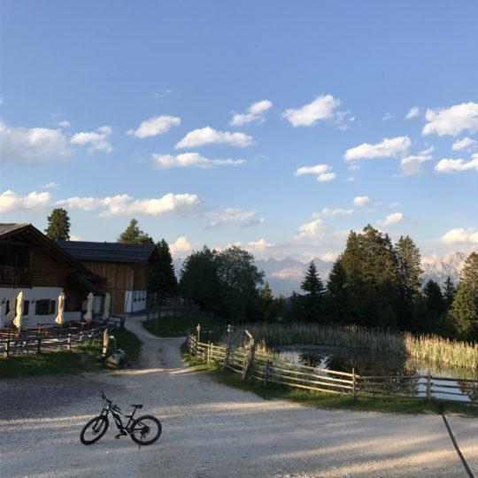 Capanna nuova - neue hutte